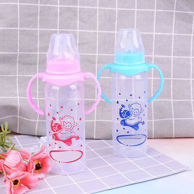 Newborn baby feeding bottle baby feeding water standard caliber pp bottle M&R