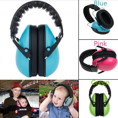 0-3 Years Old Baby Safety Ear Muffs Noise Cancelling Headphones Hear Protection