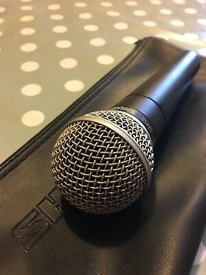 Shure SM58S Vocal Microphone Used 5 Times Genuine Mic