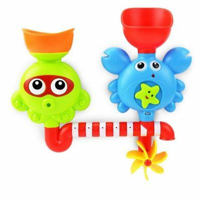 senleer Bath Toy Waterfall Water Station-Bathtub Suction Cups Toys Children 1 J5
