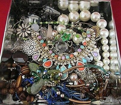 A Large Job Lot of Jewellery. Costume.