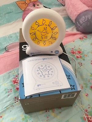 Clock Sleep Alarm Child Wake up Toy Gro Trainer Bedtime Night Toddler Story Book