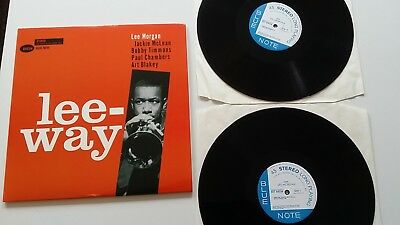 LEE MORGAN Leeway 180 Gr 45 RPM Jazz Vinyl NM Wie Neu Blue Note Do-LP Numbered