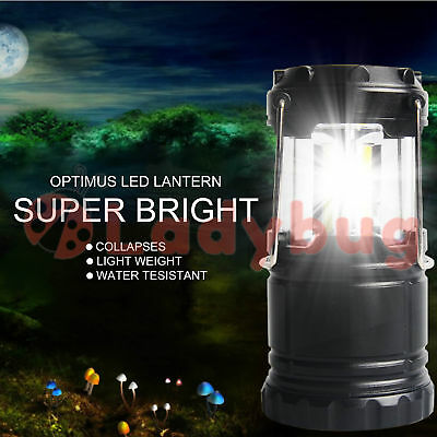 2X Protable 30 LED Collapsible Camping Lantern Hiking Tent Outdoor Lamp Light AU