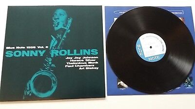 SONNY ROLLINS Vol. 2 Blue Note 180 Gr Jazz Vinyl NM Wie Neu
