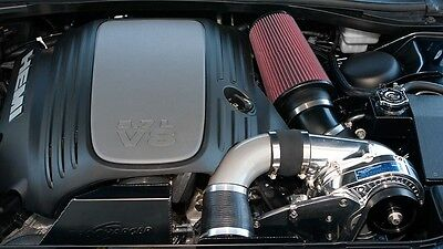 Charger Hemi 5.7L P 1SC 1 Supercharger Ho con Intercooler Sintonizzatore Kit