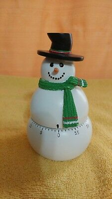 Boston Warehouse Snowman timer.