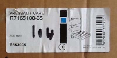 Pressalit Shower Chair 410mm with Back Rest Soft Feel Seat DS111 Art R7165108-35