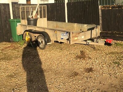 Ifor Willliams 2.8t plant Trailer reconditioned.