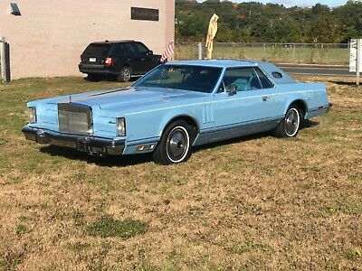 1978 Lincoln Continental  1978 lincoln mark v 7.5l
