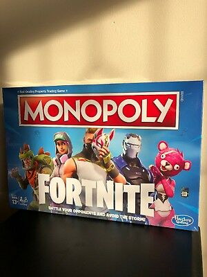 Brand New Fortnite Monopoly Board Game By Hasbro Gaming 26 00