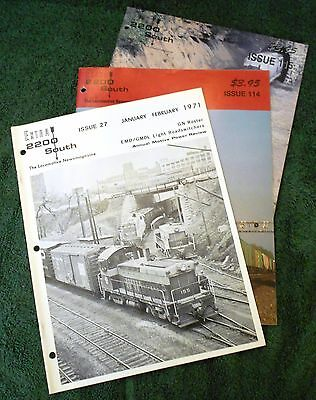 EXTRA 2200 South Magazine PICK YOUR ISSUE 1970 to 2000