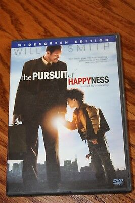 The Pursuit of Happyness (DVD, 2007, Widescreen) Will Smith, Jaden Smith