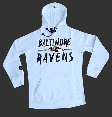 8708f4a90 9104 WOMENS NFL Apparel Baltimore Ravens LAMAR JACKSON Hooded Jersey ...