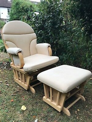 Dutailier Gliding Nursery Chair & Footstool