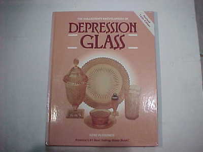 BOOK OF DEPRESSION GLASS ENCYCLOPEDIA PRICE GUIDE FOR COLLECTORS, 10th EDITION