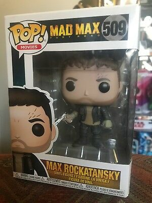 FUNKO POP Movies MAD MAX FURY ROAD-Max Rockatansky 509 28038 Vinyl Figure