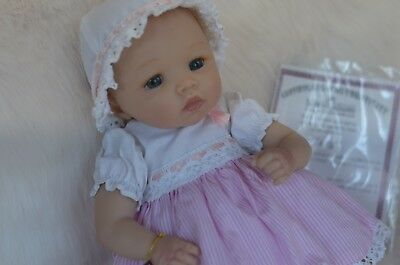 Ashton Drake Baby Lucy Doll ~realistic doll Cuddles for the Cure BCA Cheryl Hill