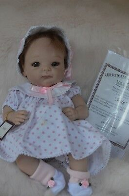 Ashton Drake Baby Sally Doll ~ realistic Cuddles for the Cure BCA Cheryl Hill