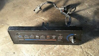 79 Datsun 280Zx Dash Air Heat Bezel A/C Heater Faceplate Switches Nice Oem Parts