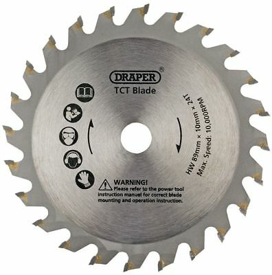 GENUINE DRAPER 89mm TCT Blade for Storm Force® Mini Plunge Saw | 25912