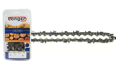 """18-Inch Semi Chisel 62 Drive Links Chainsaw Chain 3/8"""" LP Pitch .050"""" Gauge"""