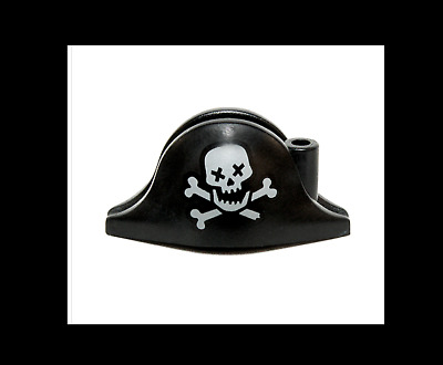 LEGO PIRATE HAT SKULL AND CROSSBONES MINIFIGURE NEW