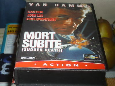 MORT SUBITE VHS FR French version JCVD Jean-Claude Vandamme used