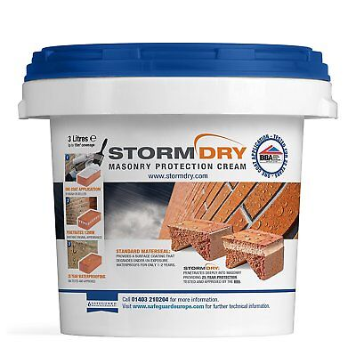 Stormdry Masonry Water Repellent - 3L - Cheapest Online***