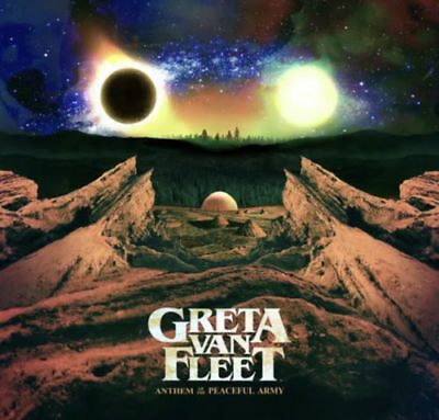 Greta Van Fleet's -Anthem Of The Peaceful Army (Redemption code) Physical  CD