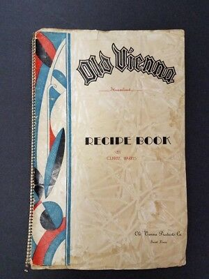 Old Vienna Potato Chips Recipe Book 1938 Promotional Product - St. Louis,