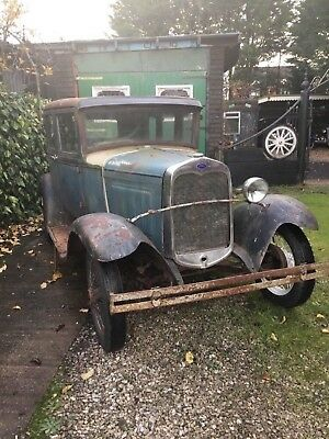 Model A. Saloon 1930 barnfind rat rod classic American