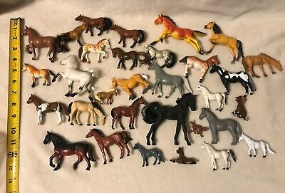 Vintage? Horse Figure Mixed Lot MMTL, Funrise & More! 30+ Figures!!