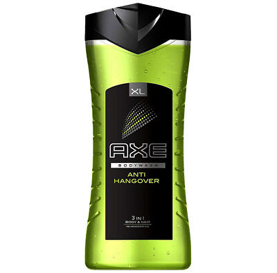 Axe XL 3in1 Body Wash For Men, Anti Hangover, For Body, Hair And Face, 400 ML