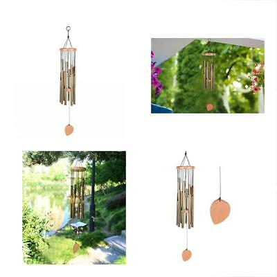 "BEAUTIFUL WIND CHIMES - Tuned 28"" Wood Windchimes Deliver Rich, Full, Relaxing"