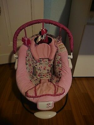 Baby wippe Minnie Mouse Rosa/Schwarz