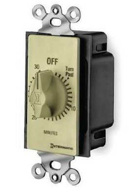 INTERMATIC FD30MW WHITE 30 MIN SPRING WOUND TIMER -  NEW Old Stock Ships FREE