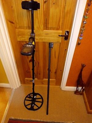 Minelab Equinox 800/600 top one Piece Carbon shaft,Shaft only.