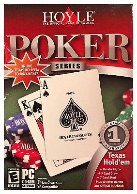 Hoyle Poker Series Pc Retail Box Sealed New Free US Shipping Win10 8 7 XP