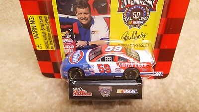 New 1998 Racing Champions 1:64 NASCAR Robert Pressley Kingsford Match Light #59