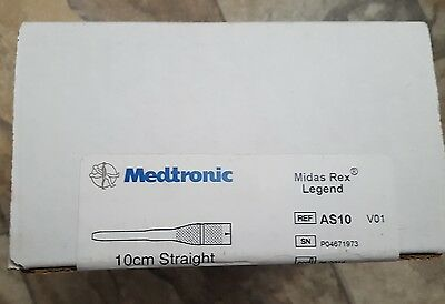 Medtronic Midas Rex AS10 10cm Straight Attachment NEW!