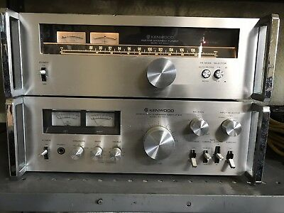 Kenwood KT 5500 Tuner and KA-5700 Integrated Amplifier
