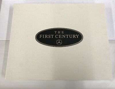 Vintage 1986 MERCEDES BENZ THE FIRST CENTURY BOOK, KEN DALLISON, SIGNED #1492