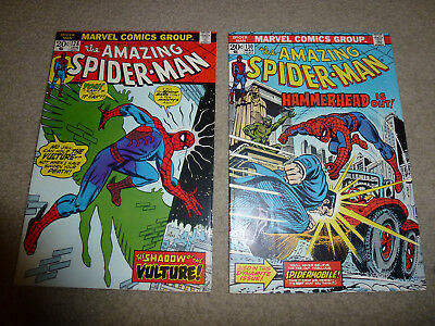AMAZING SPIDER-MAN #128 and #130 2 books VF lot