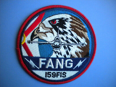 159th Fighter Interceptor Sqdn (FIS)Florida Air National Guard (FANG) USAF Patch