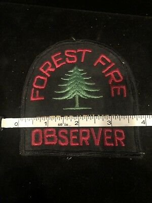 State Of New York Forest Fire Observer Patch