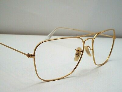 ca3300cae2284 Authentic Ray-Ban RB 3136 112 69 Caravan Matte Gold Sunglasses Frame  230