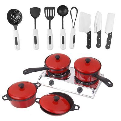 2X(Kitchenware Cookware Set for Dolls House Miniature Home Kitchen Accessory 2*