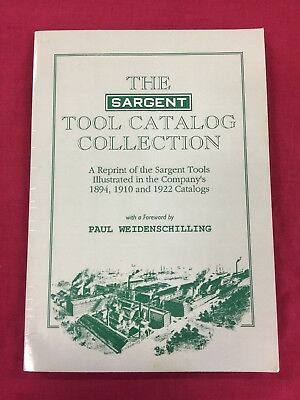 The Sargent Tool Catalog Collection
