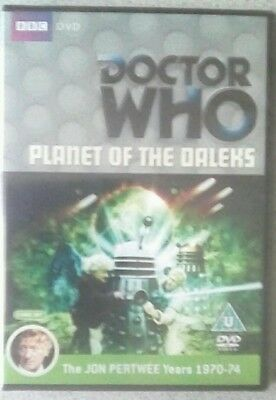 Doctor Who Planet of the Daleks Jon Pertwee TV Sci-fi BBC 2 Disc DVD New Sealed
